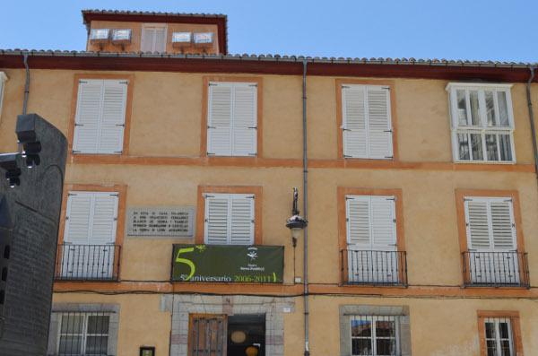 Fachada del Museo Sierra Pambley