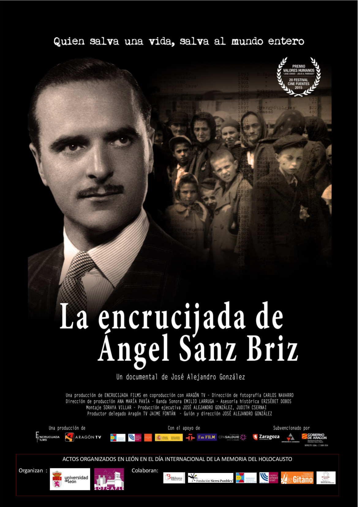 HOLOCAUSTO. CARTEL DOCUMENTAL